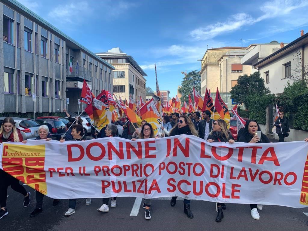 scuole opubbliche e addetti alle pulizie - Flaica Lazio